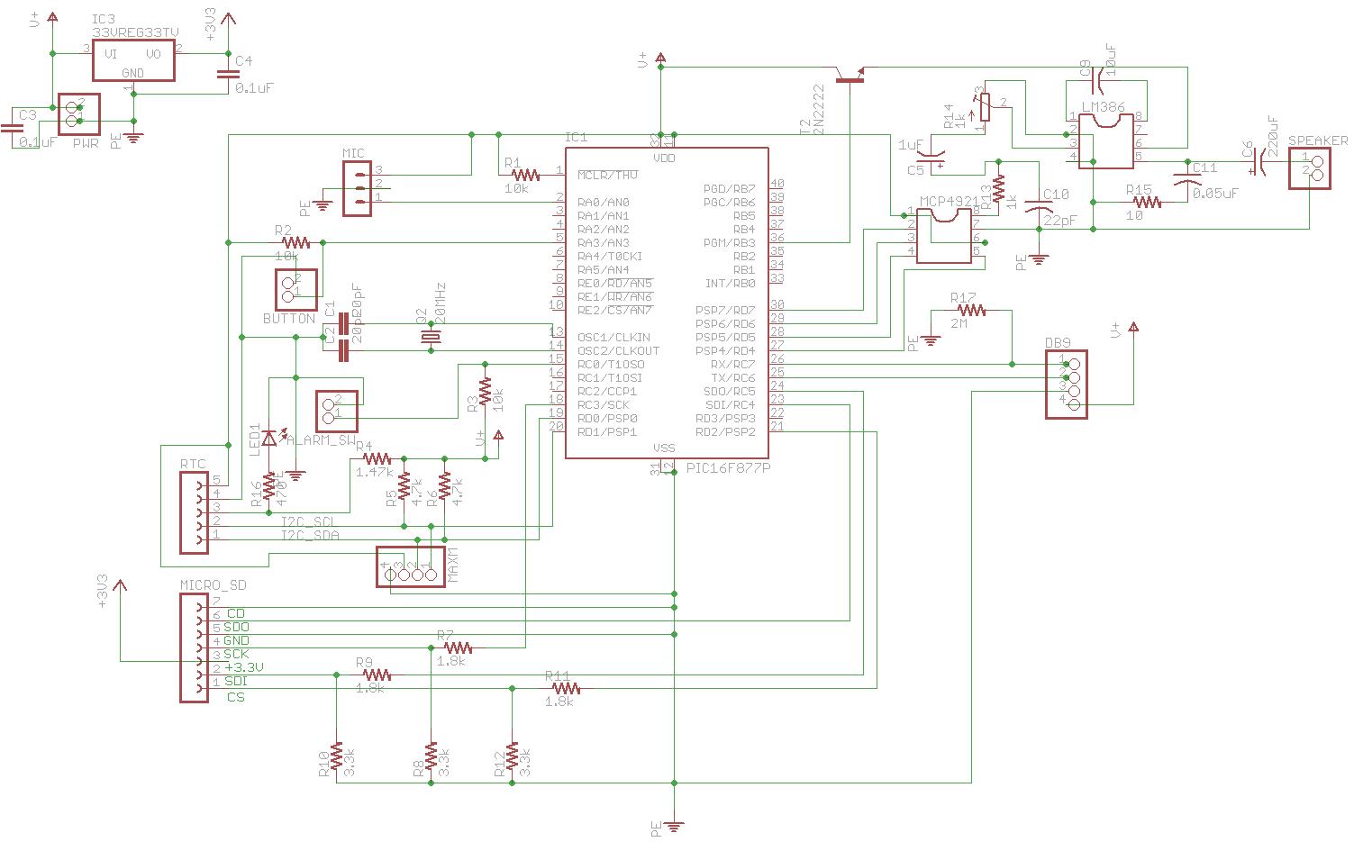Color Organ Circuit Schematic Trusted Wiring Diagrams Coloursoundorgan Electronic Diagram Pic Mood Lamp Alarm Clock Light